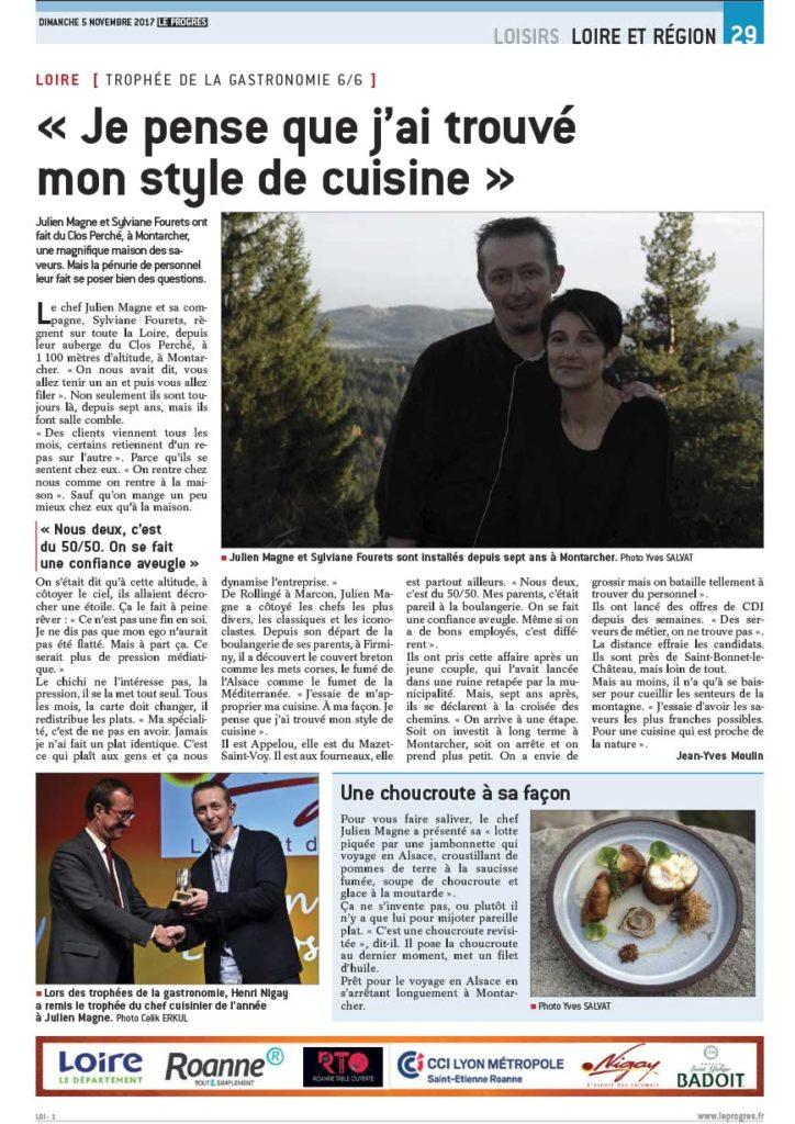 Trophées de la Gastronomie des Saveurs et du Vin 2017