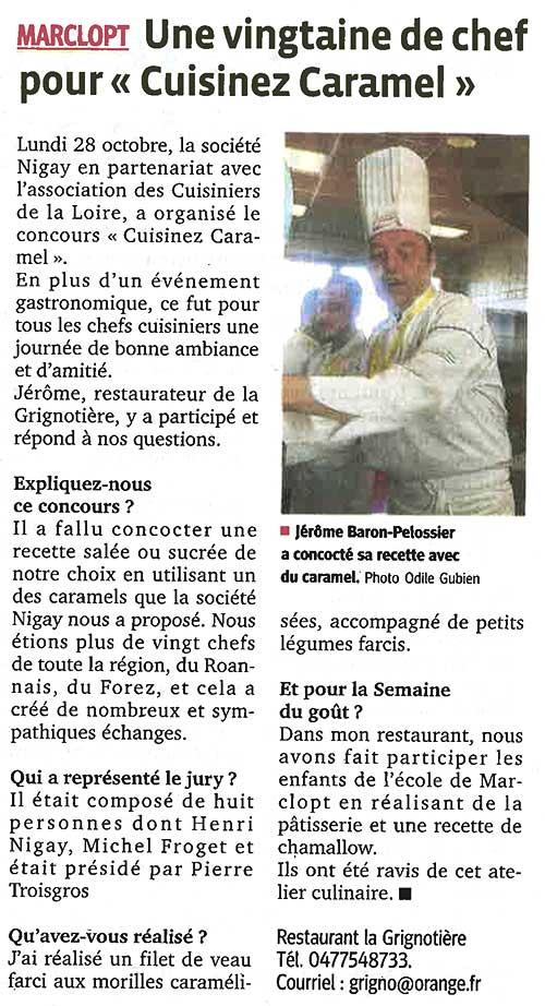 Interview de Jérôme Baron-Pelossier