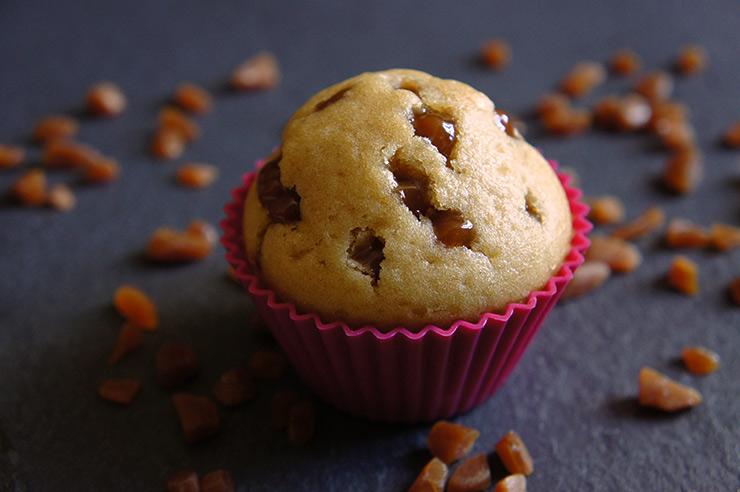Muffins éclats de caramel